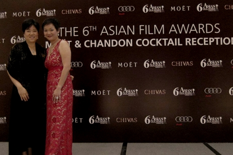 Li Kim at the 6th Asian Film Awards